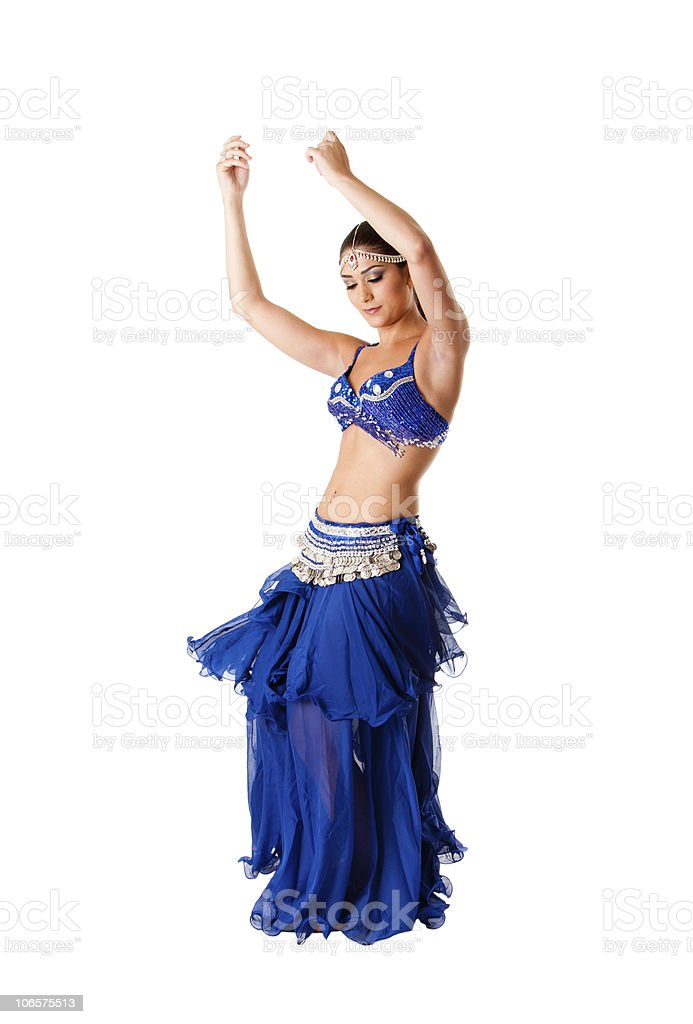 Beauty belly dancer royalty-free stock photo