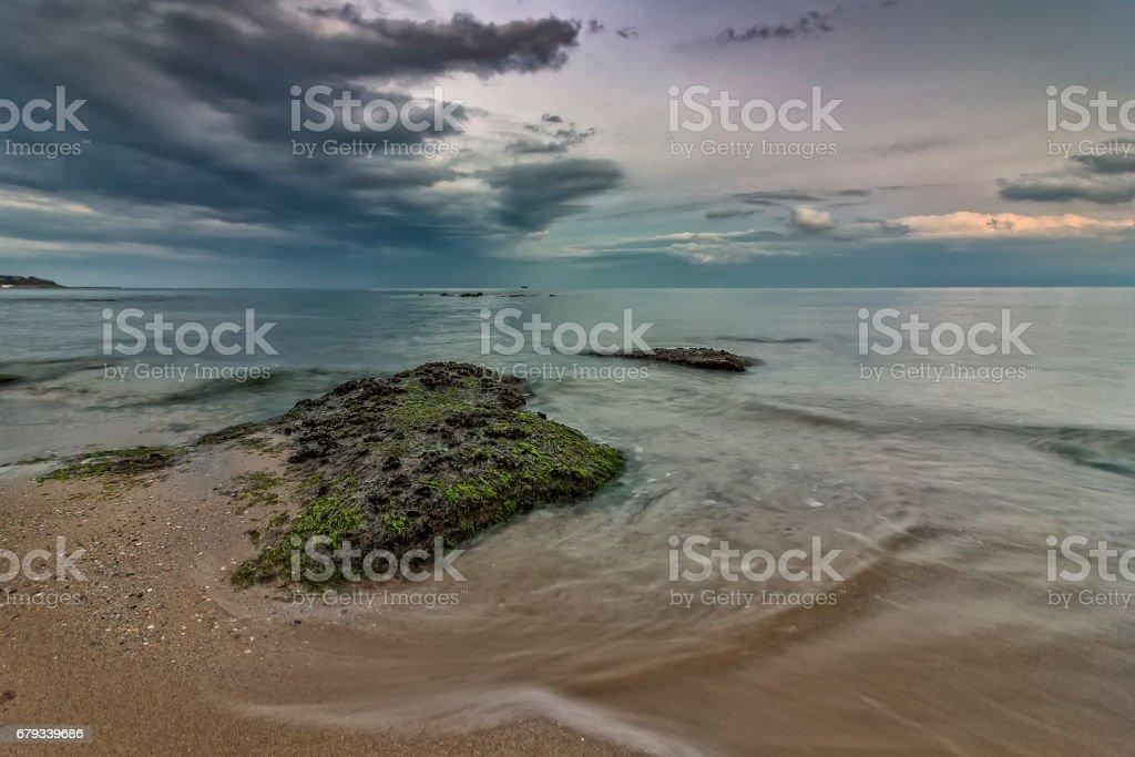 beauty calm sea stock photo