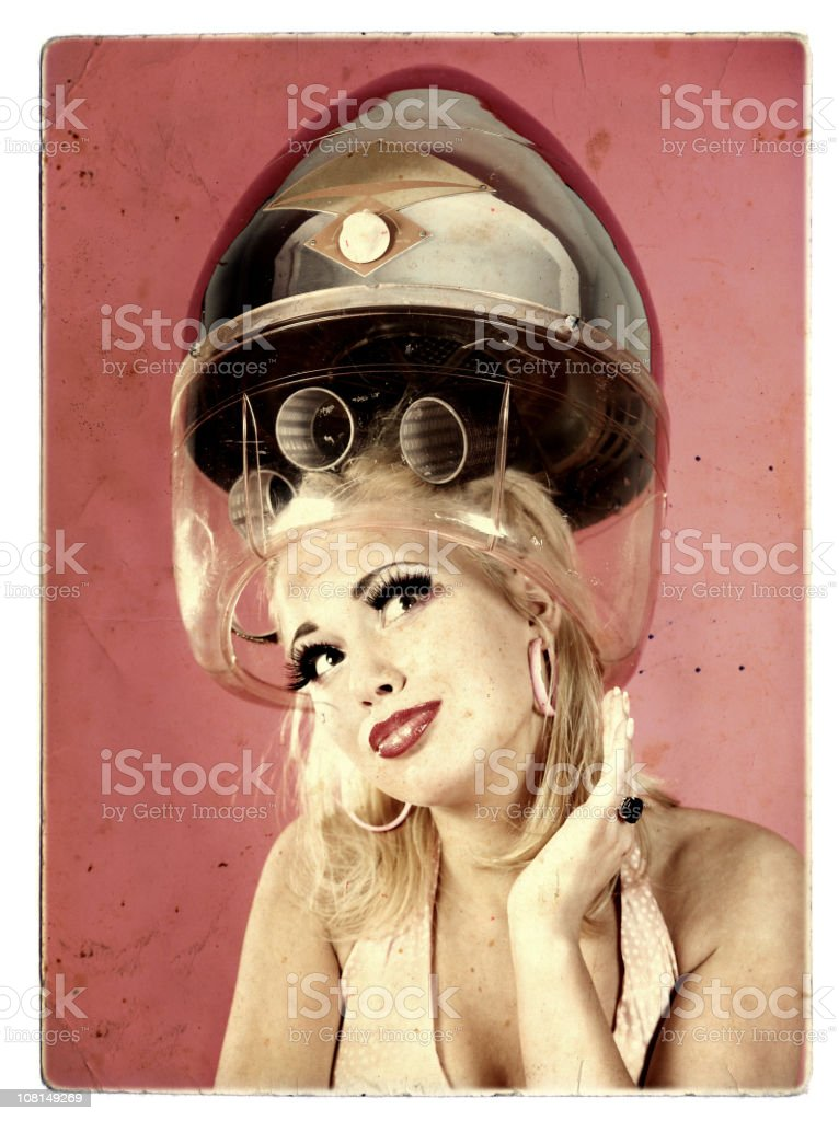 Beauty care on a vintage paper royalty-free stock photo