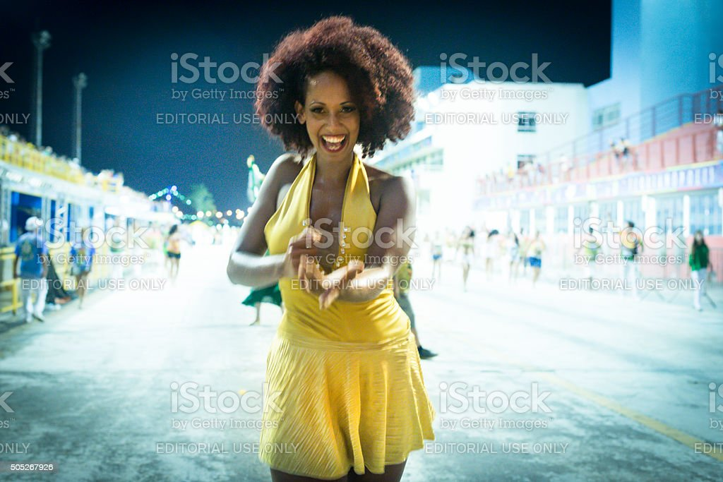 Beauty & Carnival stock photo