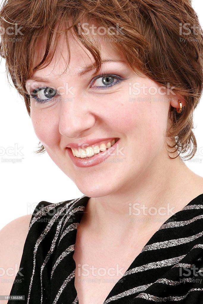 Beauty close-up royalty-free stock photo