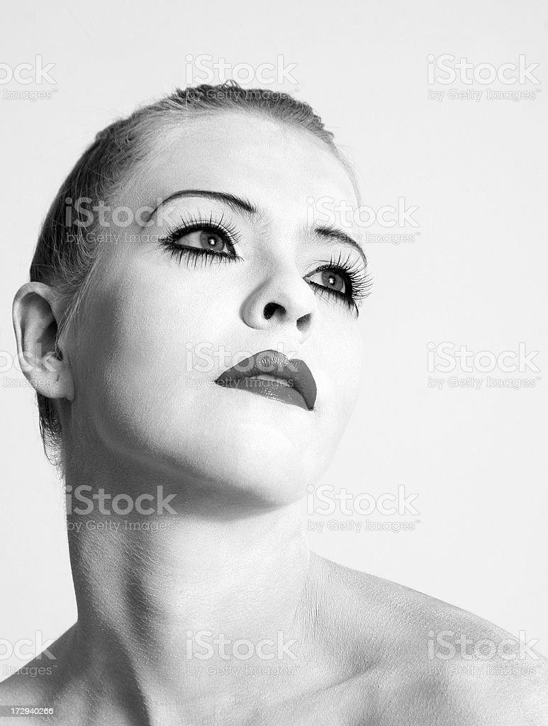 Concepto de belleza: Completar - foto de stock
