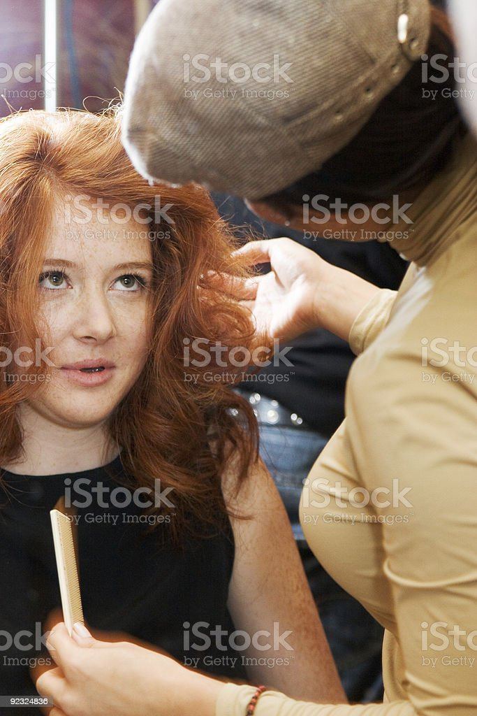 Beauty Consultant royalty-free stock photo