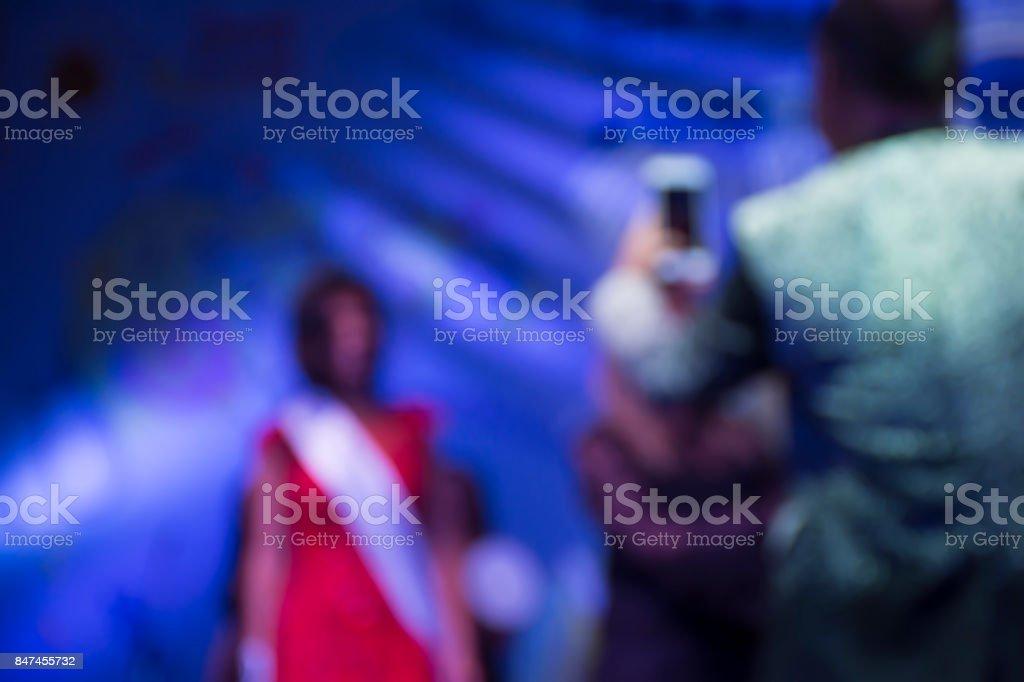 Beauty contest stock photo