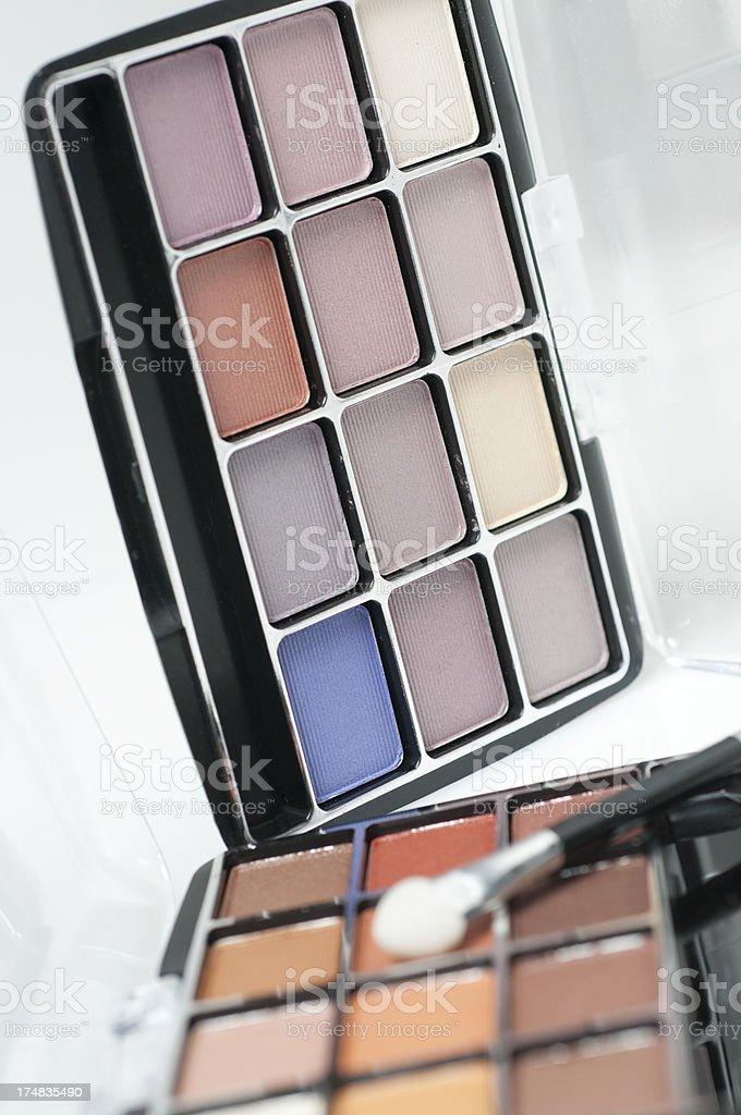 Beauty Cosmetics Eye Shadow royalty-free stock photo