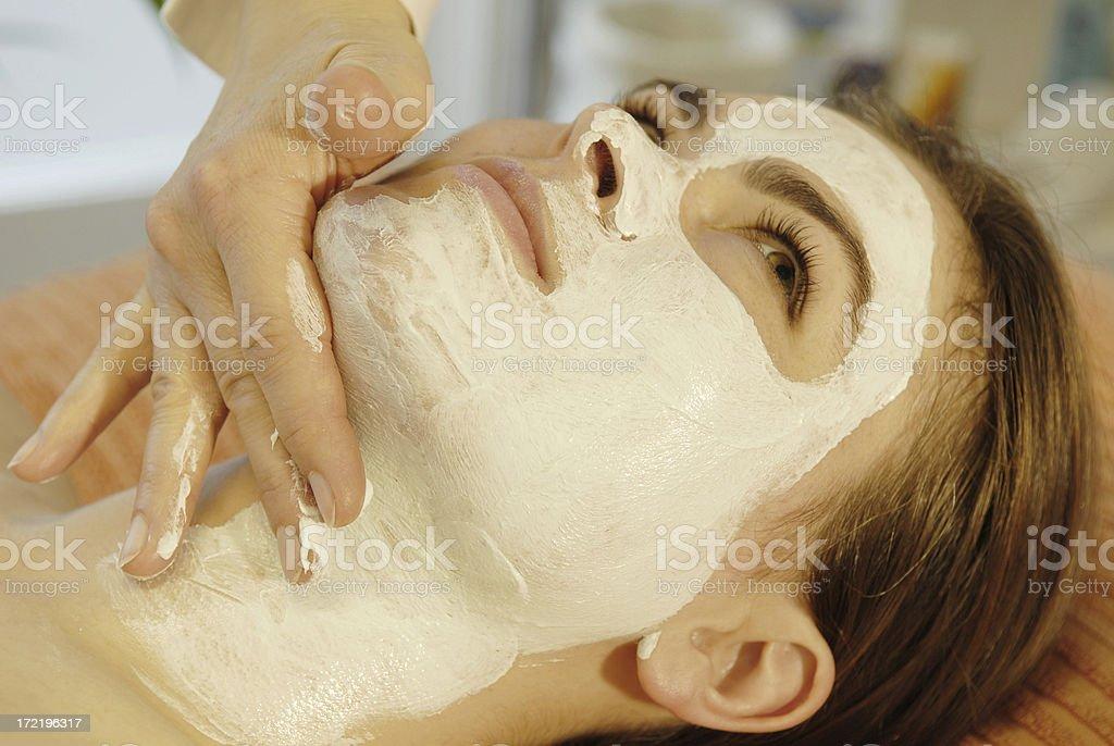 beauty costume face royalty-free stock photo