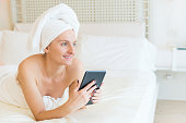 Beauty day & relax with tablet