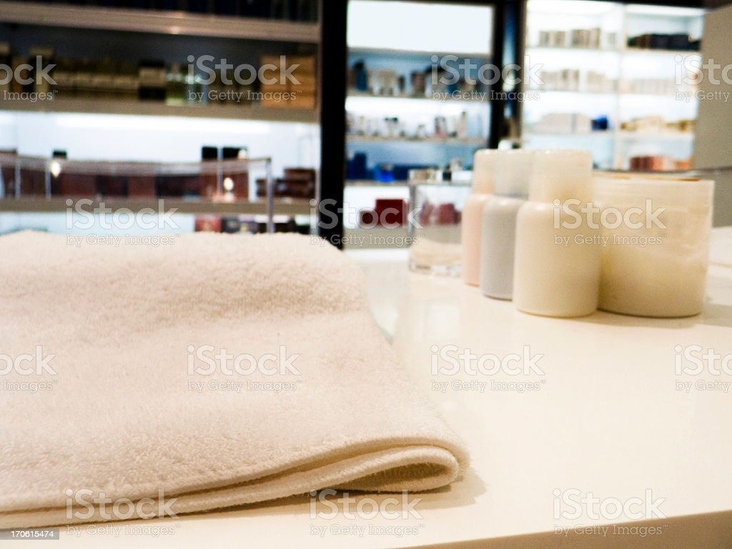 Beauty department royalty-free stock photo