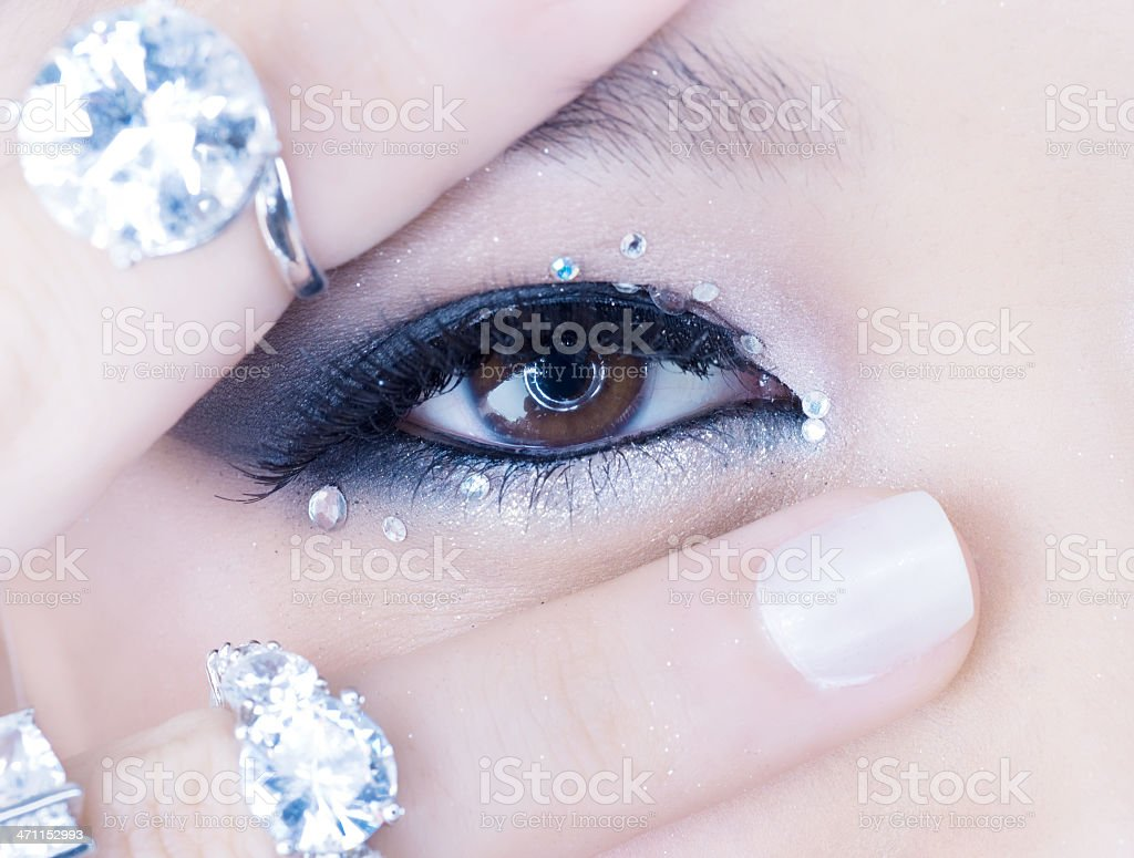 Beauty & Diamonds stock photo