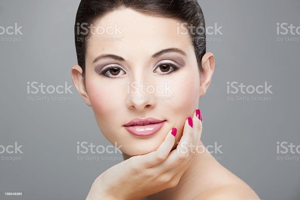 Beauty face royalty-free stock photo