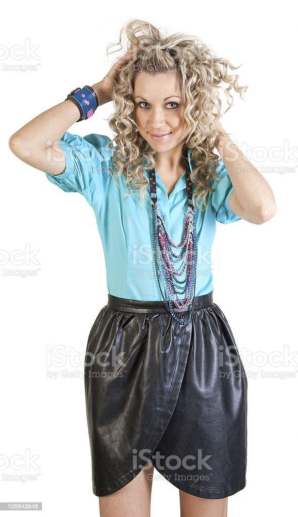 Belleza moda sexy mujer foto de stock libre de derechos
