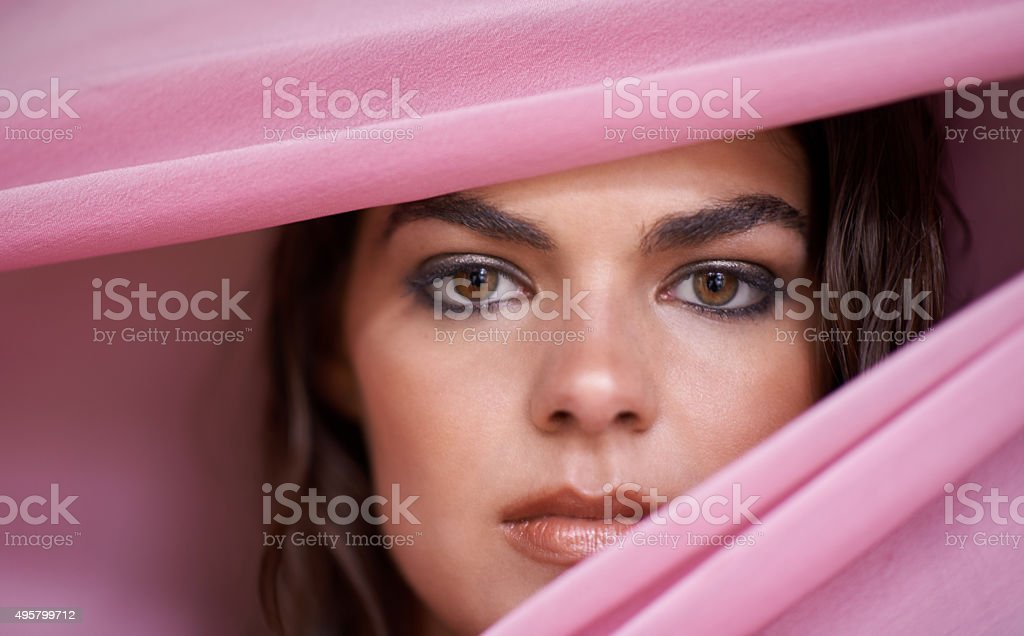 Beauty from the pink collection stock photo