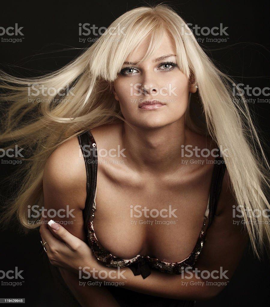 beauty girl royalty-free stock photo