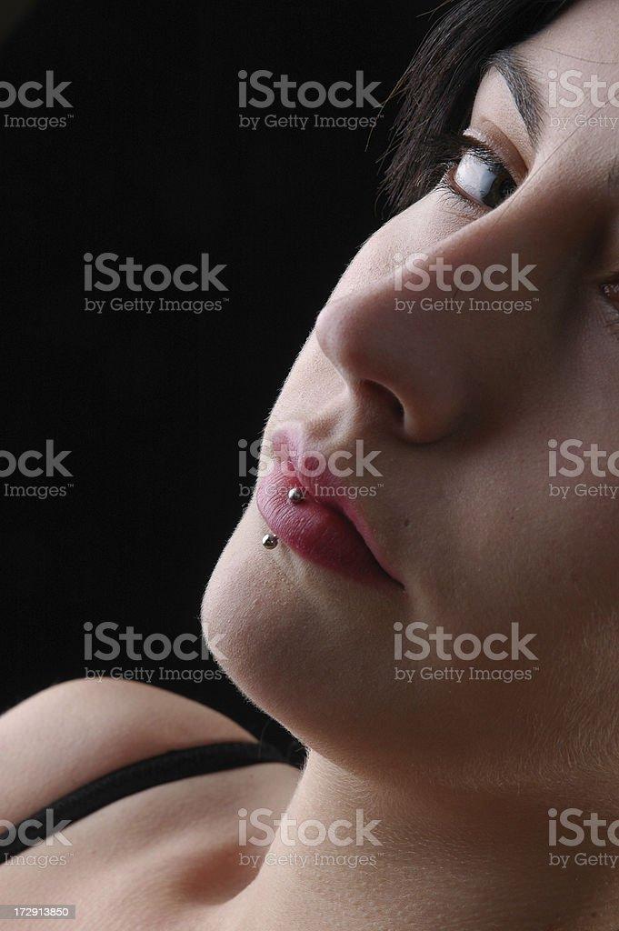 beauty girl portrait royalty-free stock photo