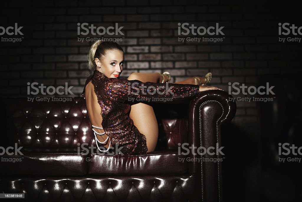 Beauty glamour girl. royalty-free stock photo