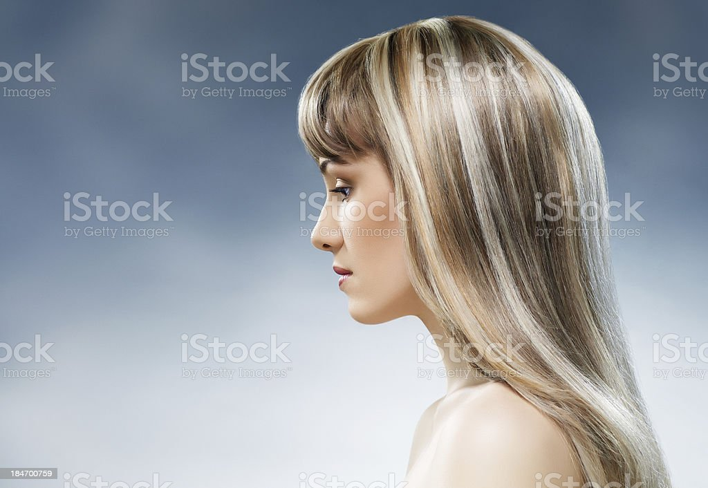 beauty hair royalty-free stock photo