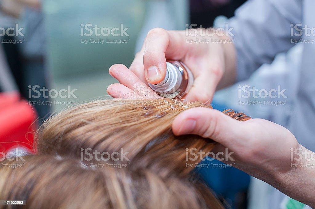 beauty hair royalty-free stock photo