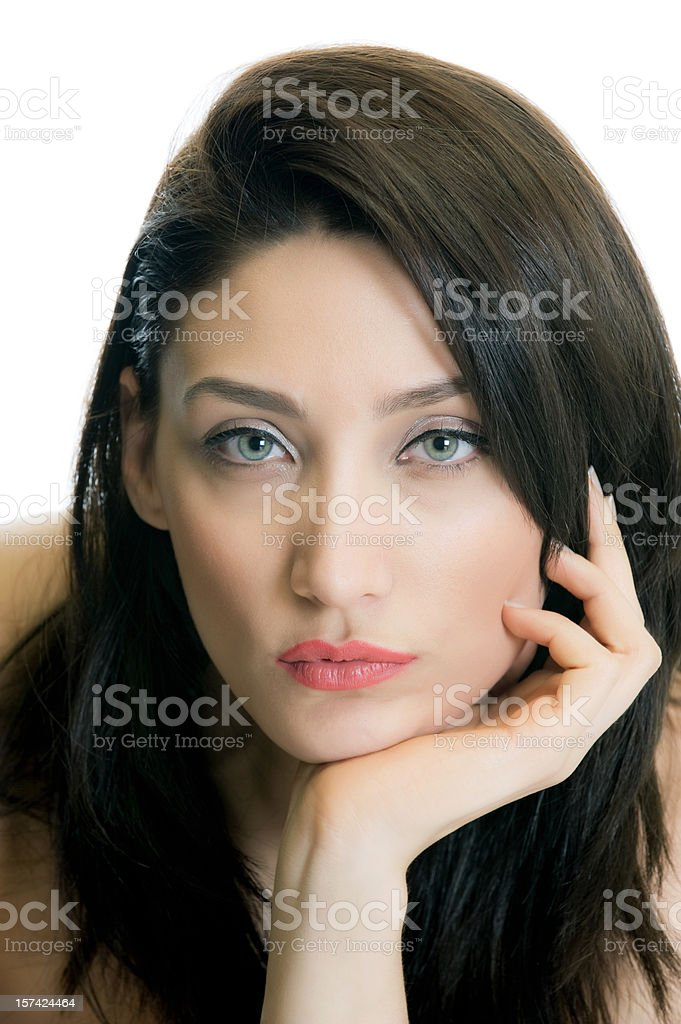 Beauty Headshot royalty-free stock photo