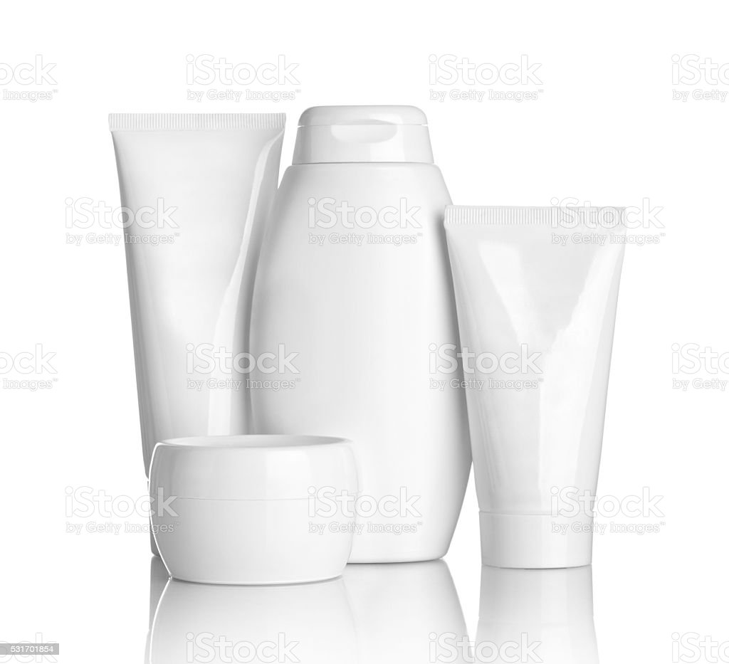 beauty hygiene container tube health care stock photo