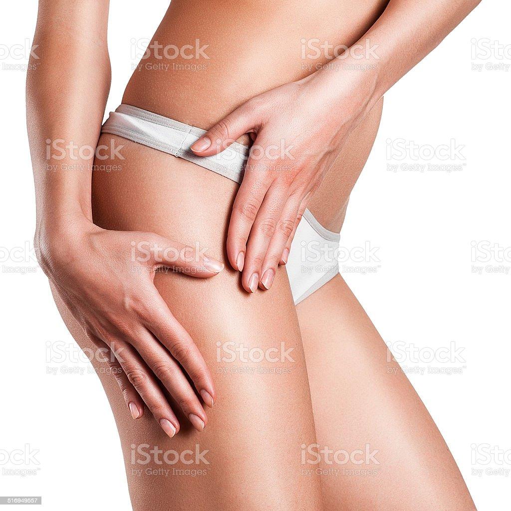 beauty in a healthy body stock photo