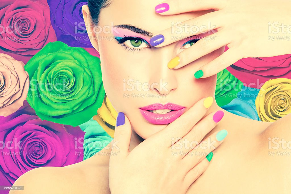 beauty in colors stock photo