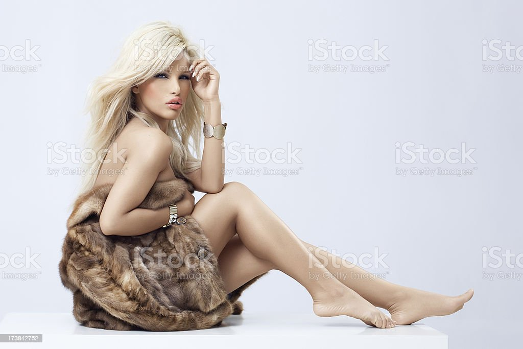 Beauty In Fur stock photo