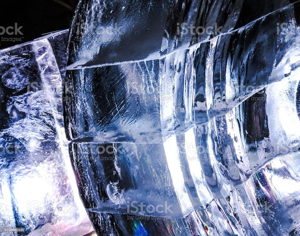 Beauty in Ice stock photo