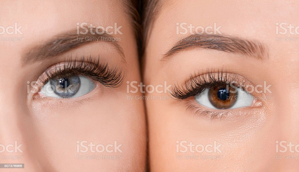 beauty in our eyes stock photo