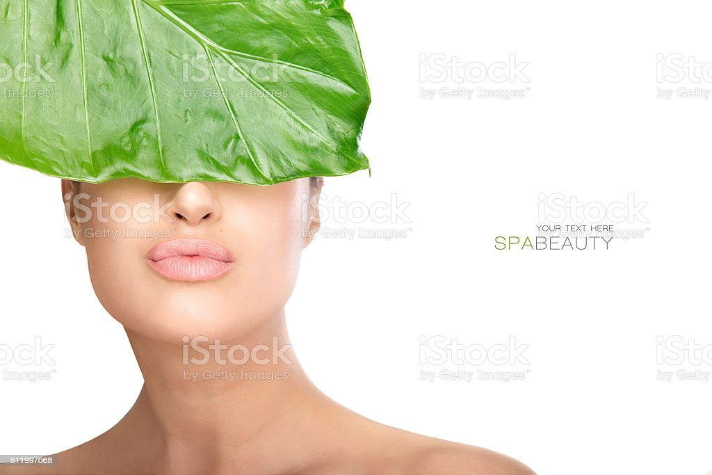 Beauty in spa concept stock photo