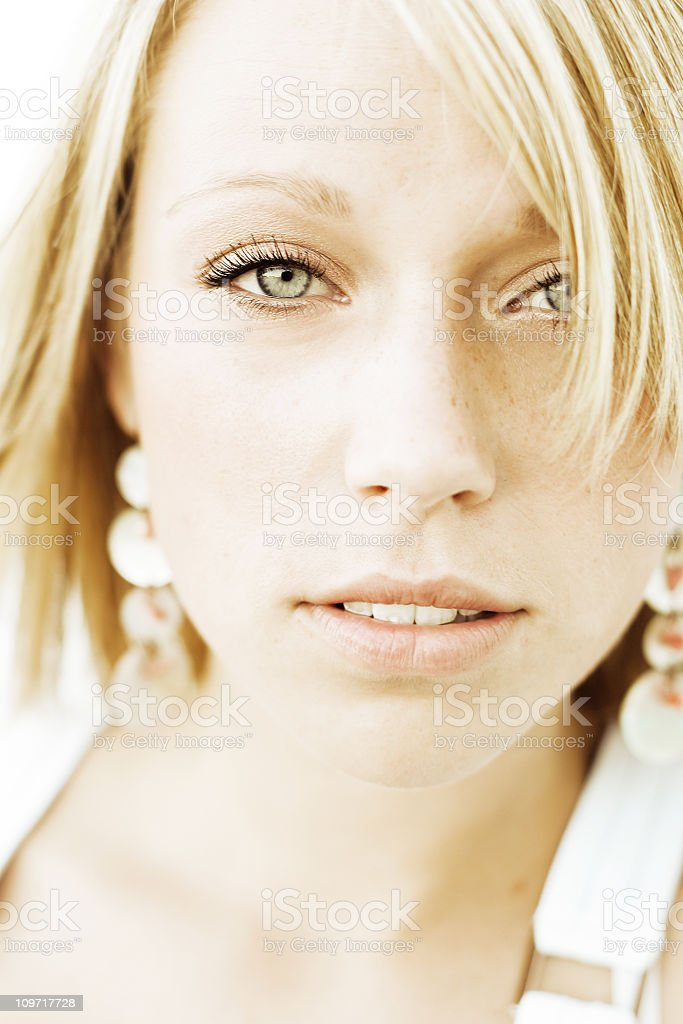 Beauty in the Eyes royalty-free stock photo