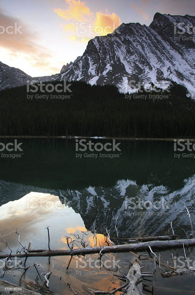 Beauty in the Rockies royalty-free stock photo