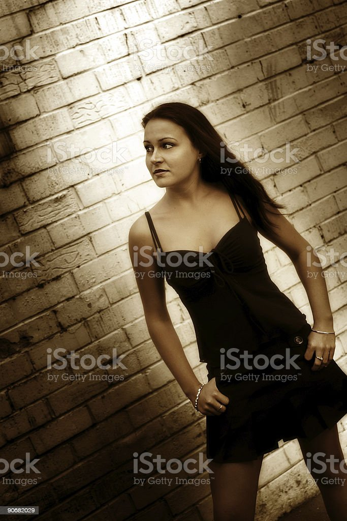 Beauty in the Shadows royalty-free stock photo