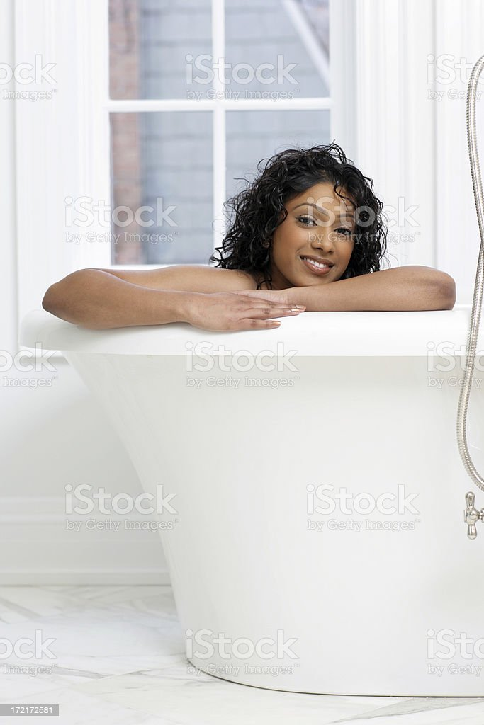 Beauty in the Tub royalty-free stock photo