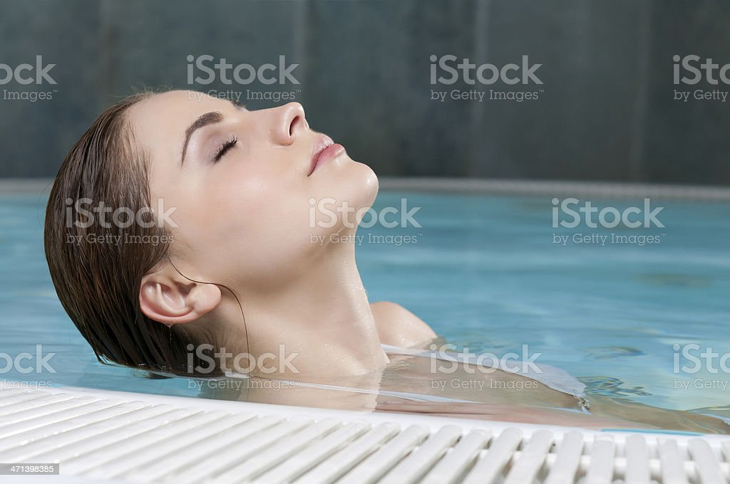 Beauty in the water royalty-free stock photo