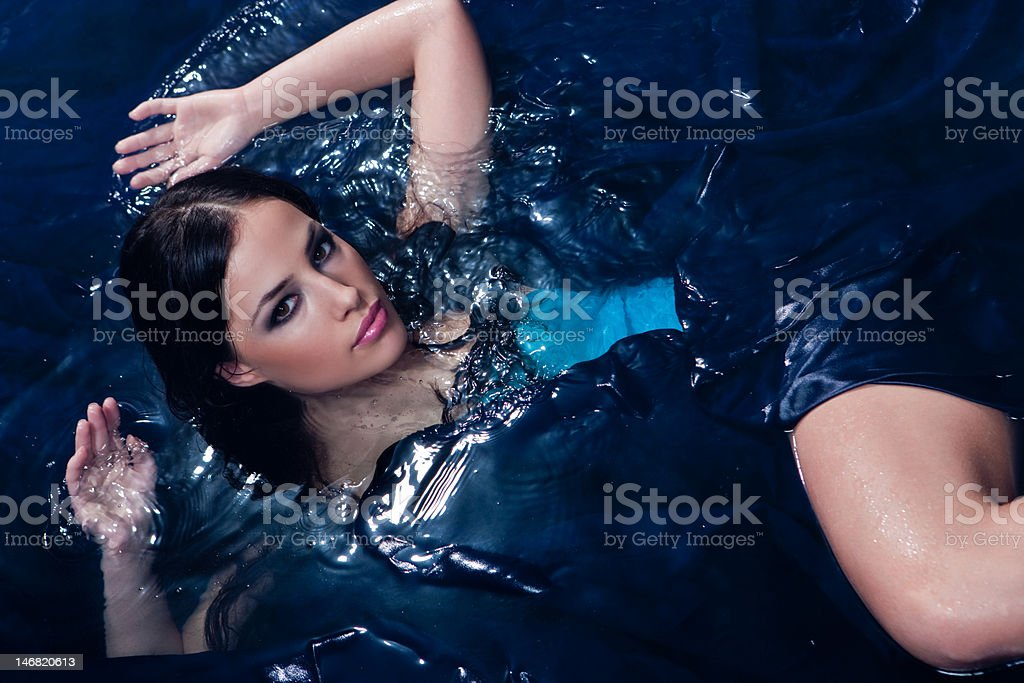 Beauty in water royalty-free stock photo