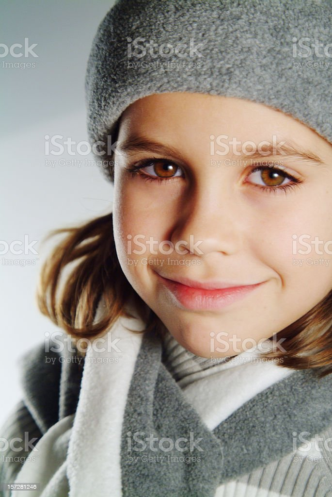 beauty in winter royalty-free stock photo