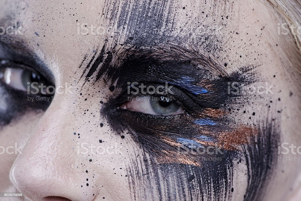Beauty is a work of art stock photo