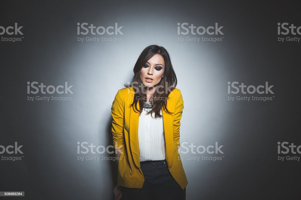 Beauty is being the best I can be stock photo