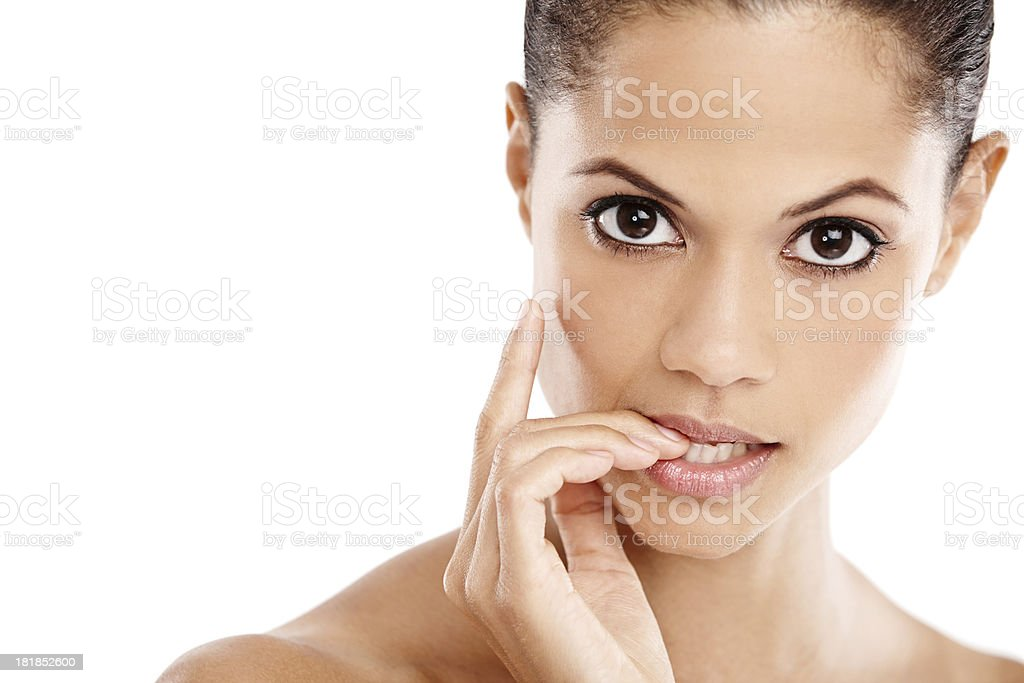 Beauty is perfection stock photo