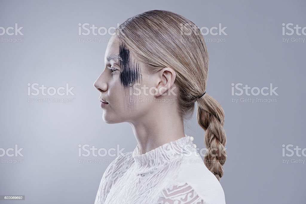 Beauty is what you make of it stock photo