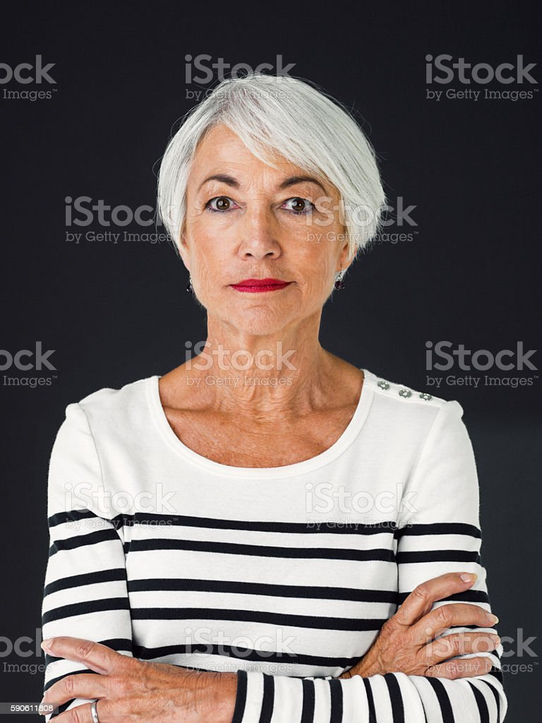 Beauty isn't bound by age stock photo