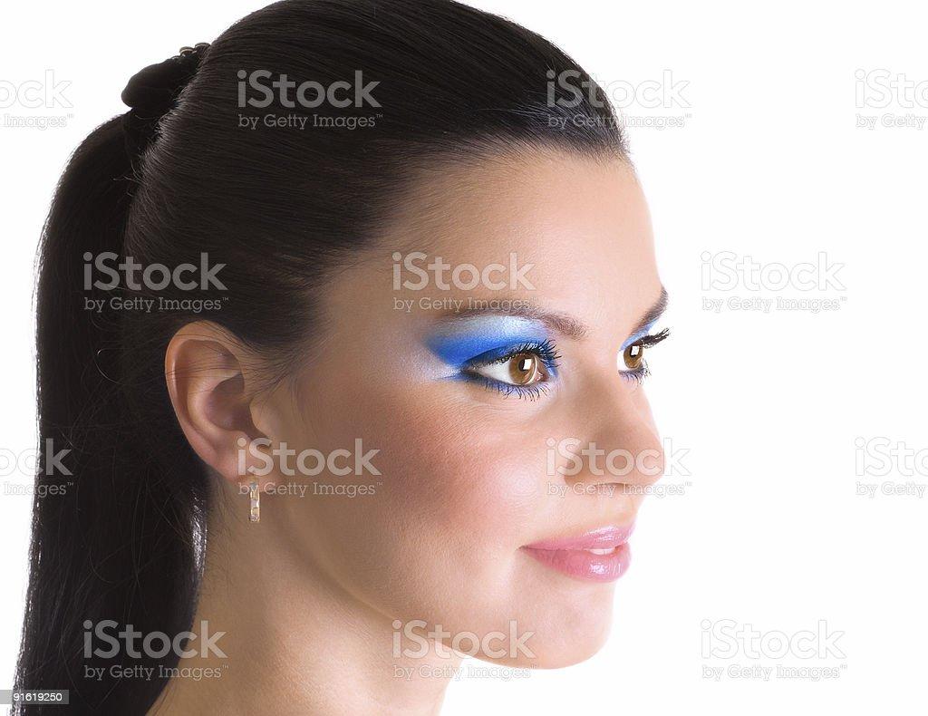 beauty makeup royalty-free stock photo