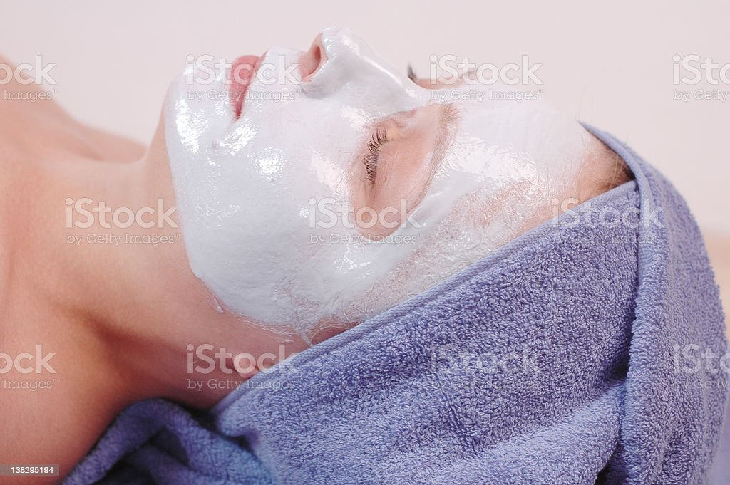 beauty mask royalty-free stock photo