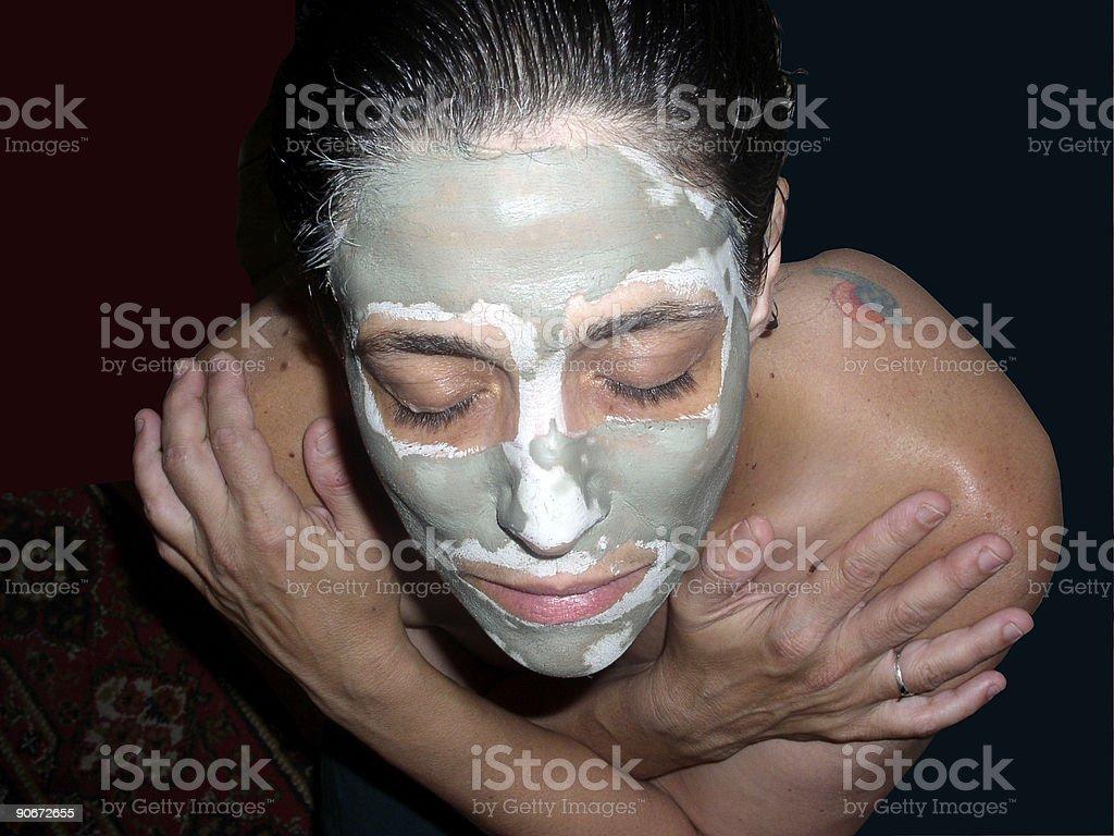 Beauty Mask stock photo