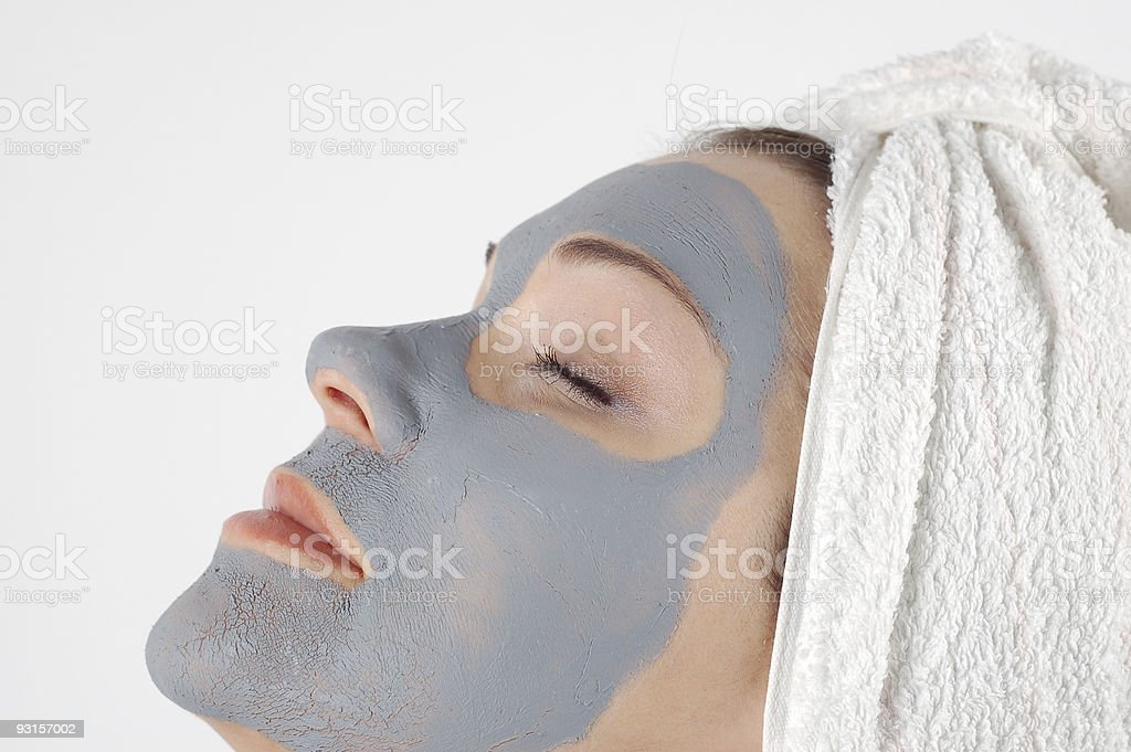 beauty mask #12 royalty-free stock photo