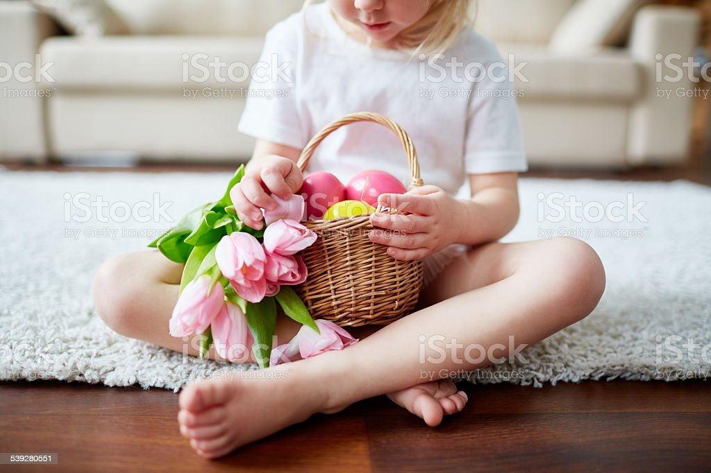 Beauty of Easter stock photo