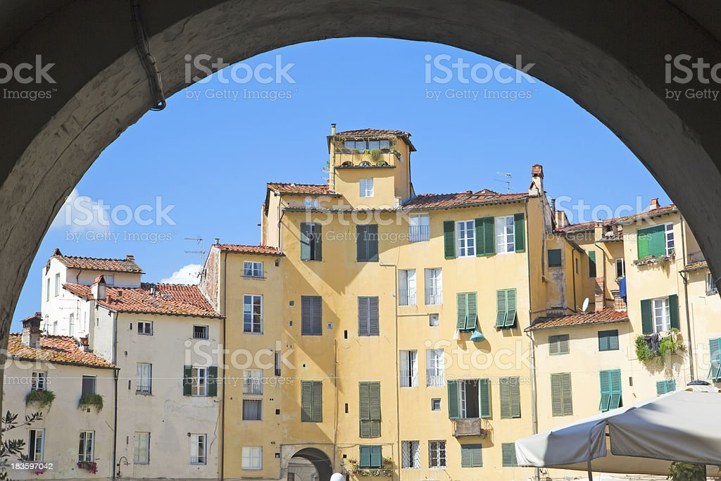 Beauty of Lucca stock photo