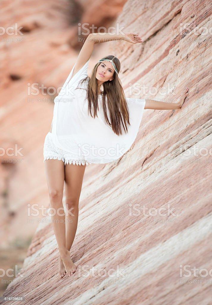 Beauty of Nature, Slot Canyon stock photo