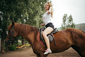 Beauty on the horse