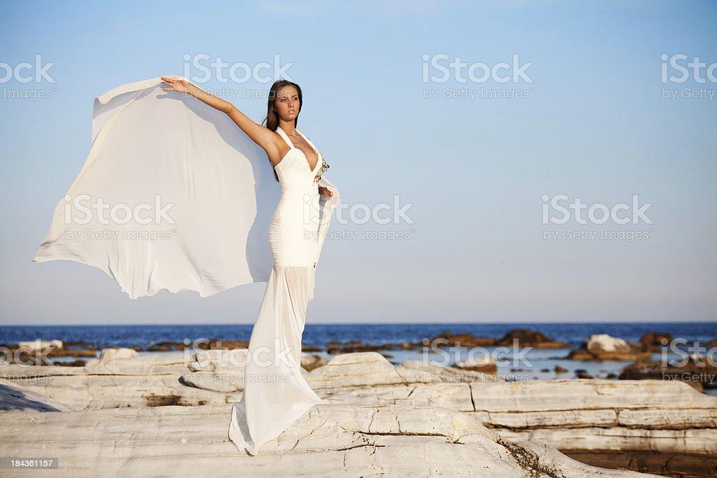 Beauty on the sea royalty-free stock photo